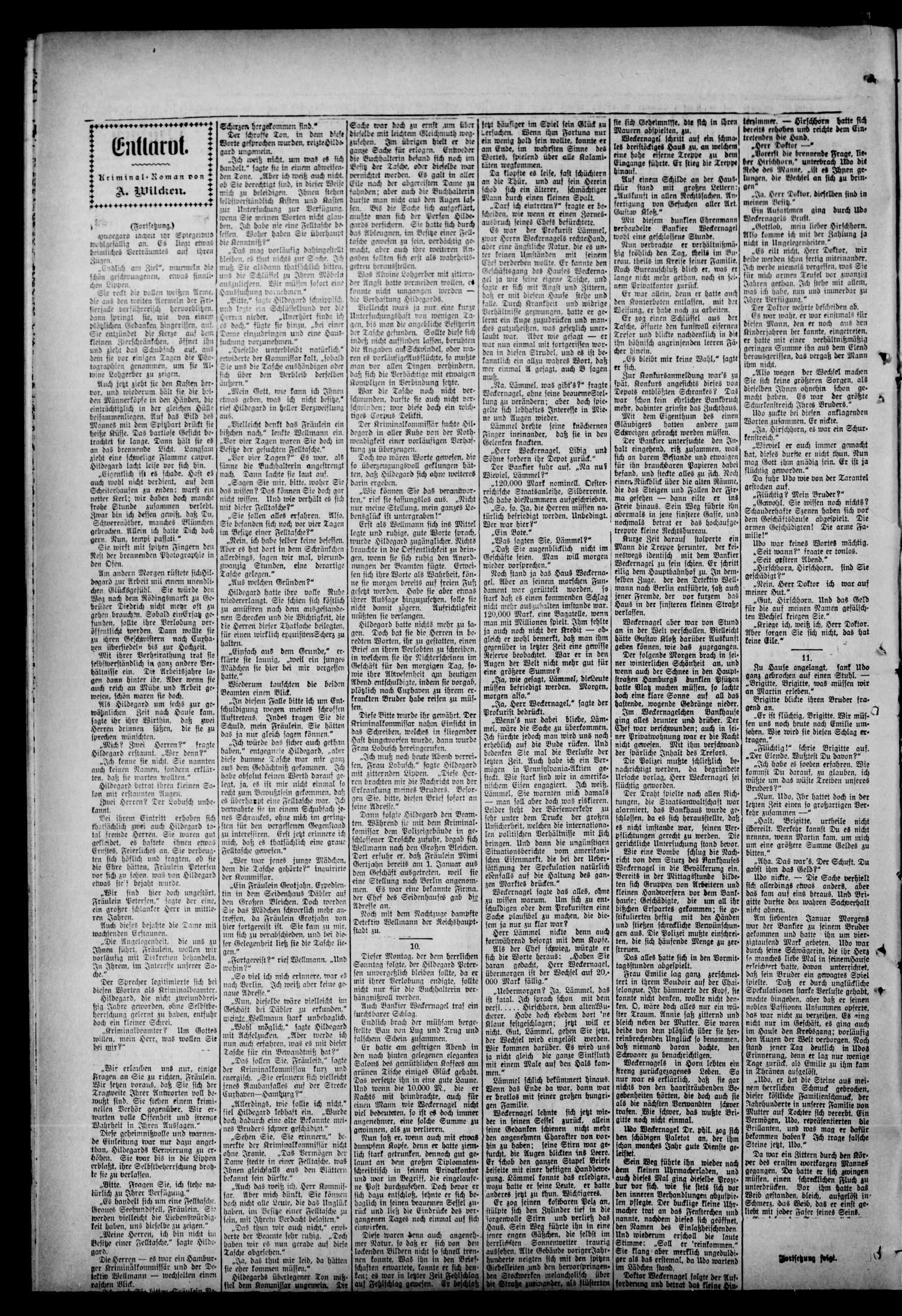 Oklahoma Neuigkeiten. (Perry, Okla.), Vol. 9, No. 31, Ed. 1 Thursday ...