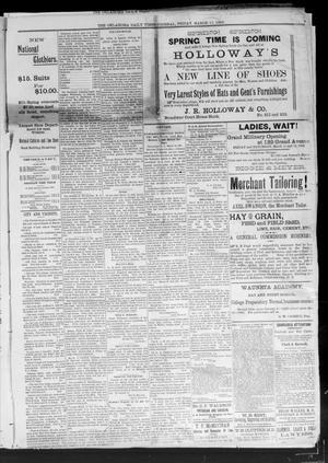 Primary view of Oklahoma Daily Times--Journal. (Oklahoma City, Okla.), Vol. 5, No. 36, Ed. 1 Saturday, March 12, 1892