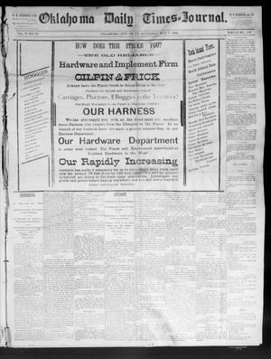 Primary view of Oklahoma Daily Times--Journal. (Oklahoma City, Okla.), Vol. 5, No. 79, Ed. 1 Saturday, May 7, 1892