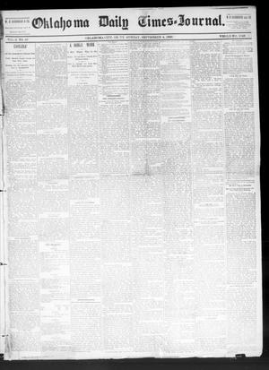 Primary view of Oklahoma Daily Times--Journal. (Oklahoma City, Okla.), Vol. 4, No. 66, Ed. 1 Sunday, September 4, 1892