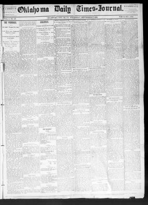 Primary view of Oklahoma Daily Times--Journal. (Oklahoma City, Okla.), Vol. 4, No. 68, Ed. 1 Wednesday, September 7, 1892