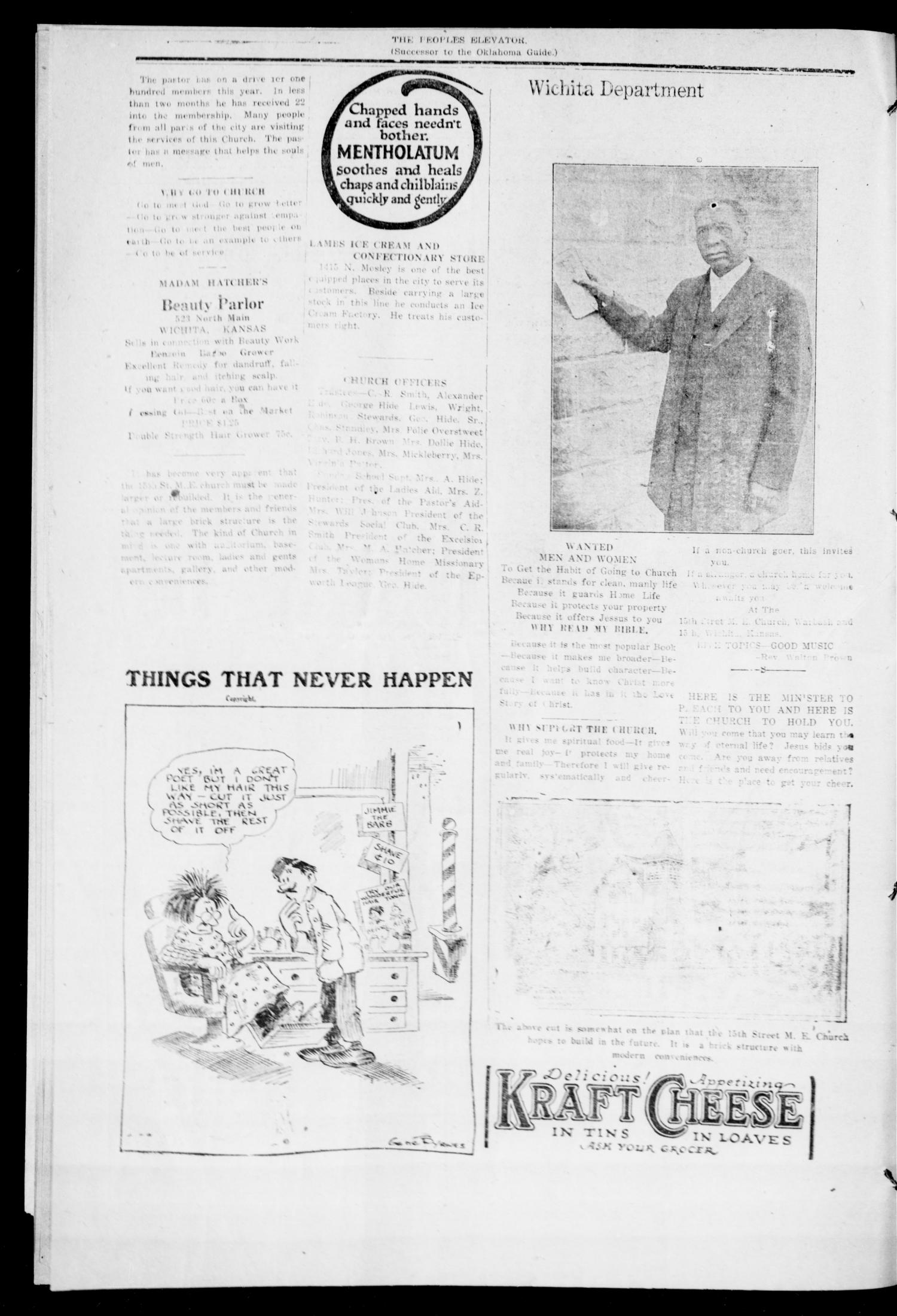 The Peoples Elevator (Guthrie, Okla.), Vol. 30, No. 11, Ed. 1 Thursday, August 24, 1922                                                                                                      [Sequence #]: 2 of 6