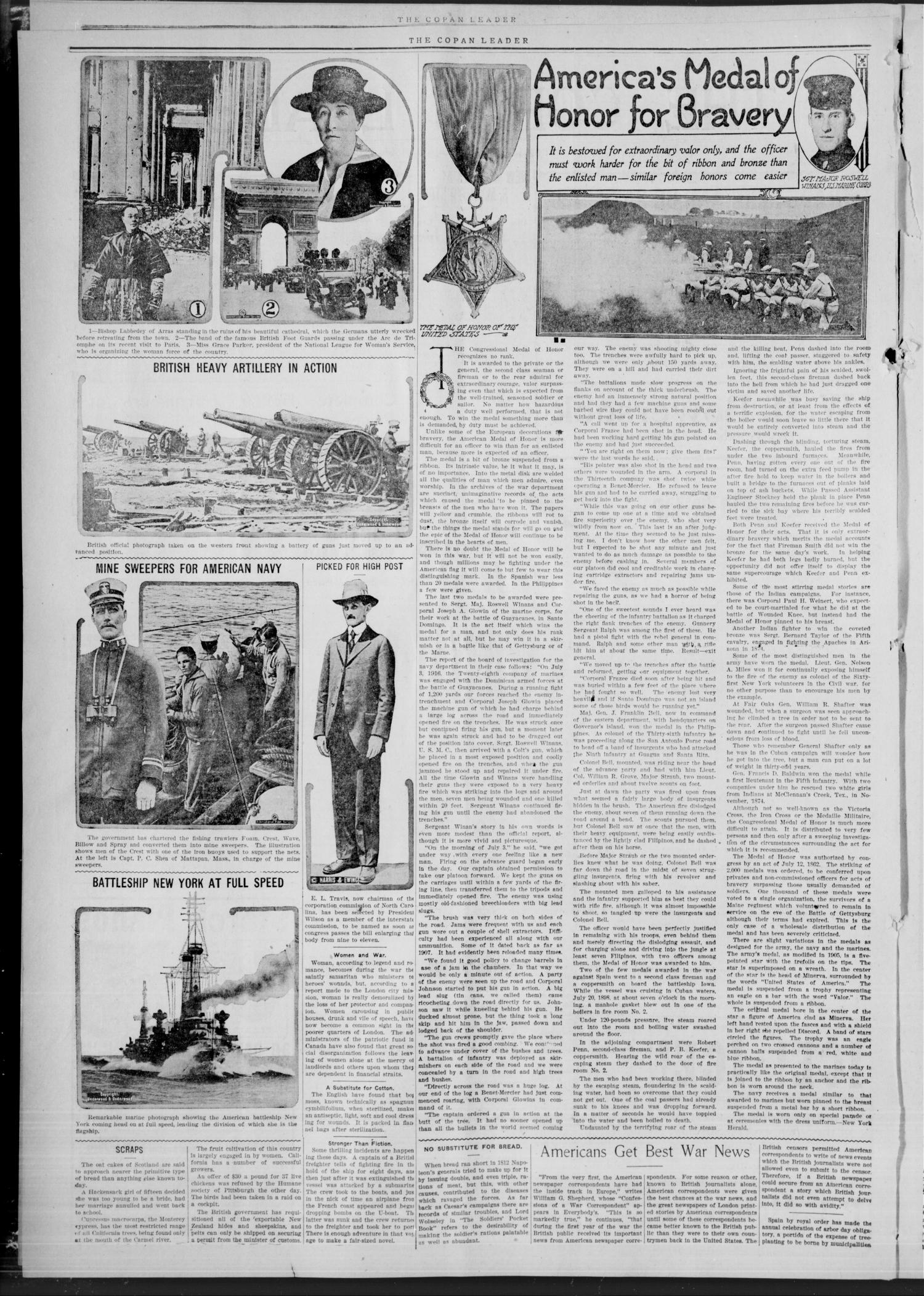 The Copan Leader. (Copan, Okla.), Vol. 2, No. 26, Ed. 1 Friday, July 6, 1917                                                                                                      [Sequence #]: 2 of 4