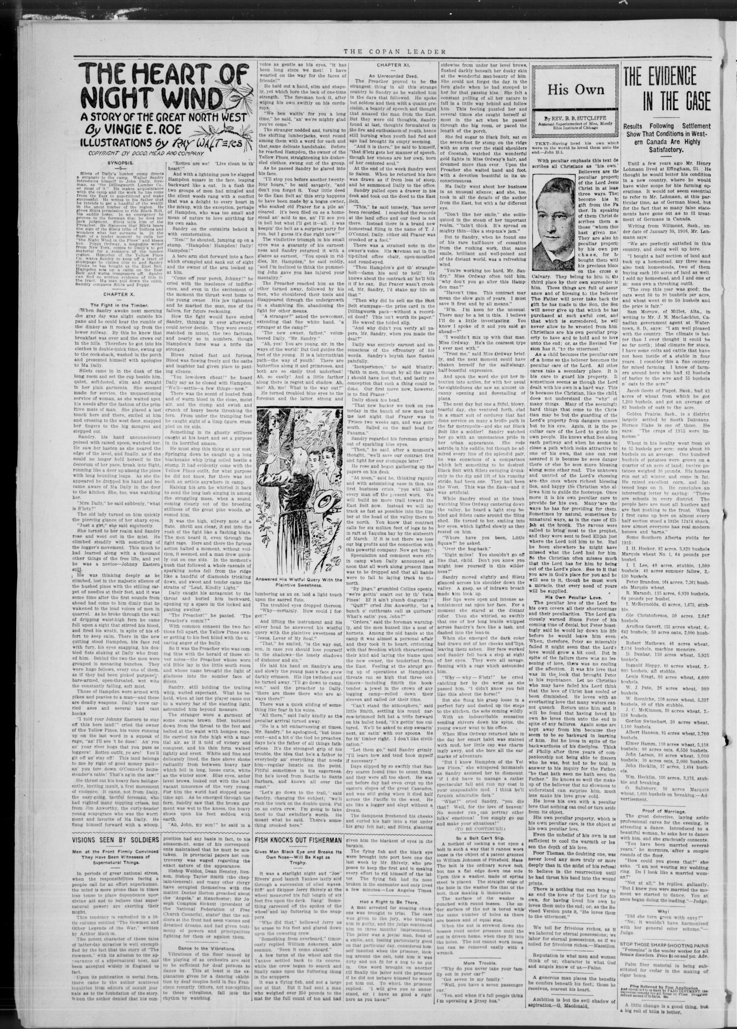 The Copan Leader. (Copan, Okla.), Vol. 1, No. 5, Ed. 1 Friday, February 25, 1916                                                                                                      [Sequence #]: 2 of 8