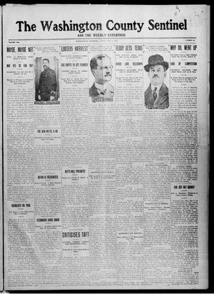 Primary view of object titled 'The Washington County Sentinel And The Weekly Enterprise (Bartlesville, Okla.), Vol. 8, No. 13, Ed. 1 Friday, May 10, 1912'.