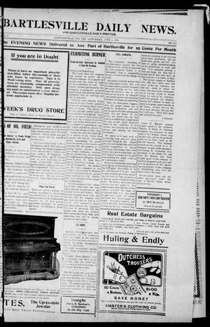 Primary view of object titled 'Bartlesville Daily News. And Bartlesville Daily Pointer. (Bartlesville, Indian Terr.), Vol. 1, No. 261, Ed. 1 Saturday, June 2, 1906'.