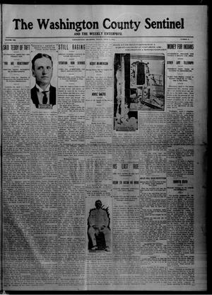Primary view of object titled 'The Washington County Sentinel And The Weekly Enterprise (Bartlesville, Okla.), Vol. 8, No. 8, Ed. 1 Friday, April 5, 1912'.