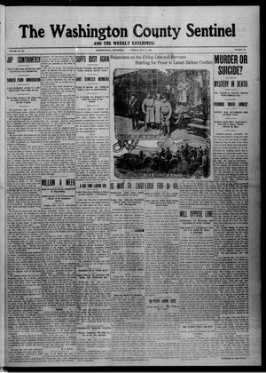 Primary view of object titled 'The Washington County Sentinel And The Weekly Enterprise (Bartlesville, Okla.), Vol. 9, No. 22, Ed. 1 Friday, July 11, 1913'.