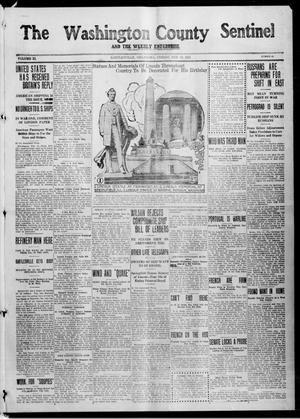 Primary view of object titled 'The Washington County Sentinel And The Weekly Enterprise (Bartlesville, Okla.), Vol. 11, No. 52, Ed. 1 Friday, February 12, 1915'.