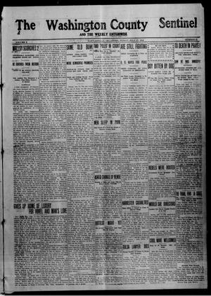 Primary view of object titled 'The Washington County Sentinel And The Weekly Enterprise (Bartlesville, Okla.), Vol. 10, No. 23, Ed. 1 Friday, July 17, 1914'.