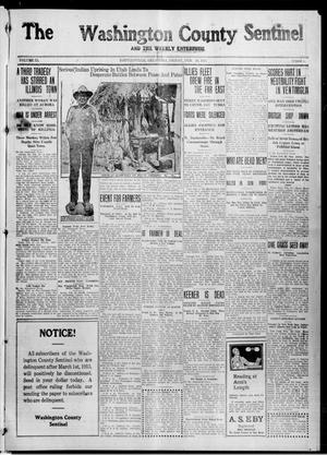 Primary view of object titled 'The Washington County Sentinel And The Weekly Enterprise (Bartlesville, Okla.), Vol. 11, No. 2, Ed. 1 Friday, February 26, 1915'.