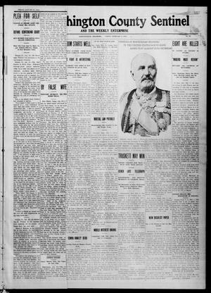 Primary view of object titled 'The Washington County Sentinel And The Weekly Enterprise (Bartlesville, Okla.), Vol. 7, No. 51, Ed. 1 Friday, February 2, 1912'.