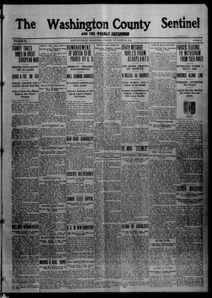 Primary view of object titled 'The Washington County Sentinel And The Weekly Enterprise (Bartlesville, Okla.), Vol. 11, No. 37, Ed. 1 Friday, October 30, 1914'.