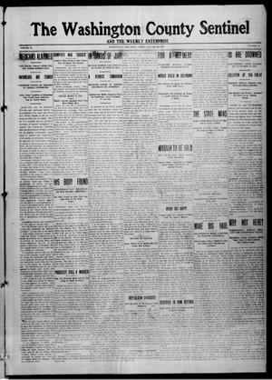 Primary view of object titled 'The Washington County Sentinel And The Weekly Enterprise (Bartlesville, Okla.), Vol. 9, No. 52, Ed. 1 Friday, January 30, 1914'.