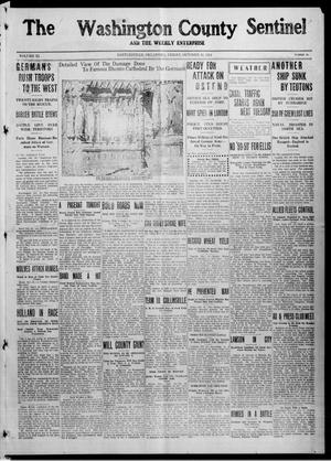 Primary view of object titled 'The Washington County Sentinel And The Weekly Enterprise (Bartlesville, Okla.), Vol. 11, No. 35, Ed. 1 Friday, October 16, 1914'.