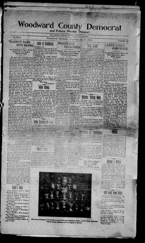 Primary view of object titled 'Woodward County Democrat and Palace Weekly Pioneer. (Woodward, Okla.), Vol. 4, No. 38, Ed. 1 Thursday, January 7, 1909'.