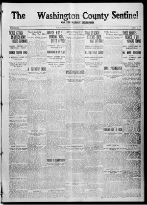 Primary view of object titled 'The Washington County Sentinel And The Weekly Enterprise (Bartlesville, Okla.), Vol. 11, No. 48, Ed. 1 Friday, January 15, 1915'.