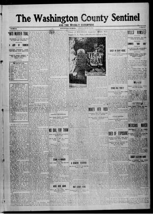 Primary view of object titled 'The Washington County Sentinel And The Weekly Enterprise (Bartlesville, Okla.), Vol. 9, No. 50, Ed. 1 Friday, January 16, 1914'.