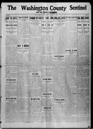 Primary view of object titled 'The Washington County Sentinel And The Weekly Enterprise (Bartlesville, Okla.), Vol. 10, No. 12, Ed. 1 Friday, May 1, 1914'.