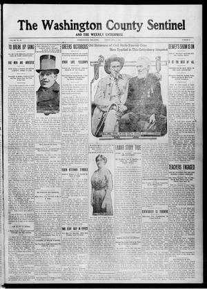 Primary view of object titled 'The Washington County Sentinel And The Weekly Enterprise (Bartlesville, Okla.), Vol. 9, No. 21, Ed. 1 Friday, July 4, 1913'.