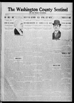Primary view of object titled 'The Washington County Sentinel And The Weekly Enterprise (Bartlesville, Okla.), Vol. 7, No. 52, Ed. 1 Friday, February 9, 1912'.