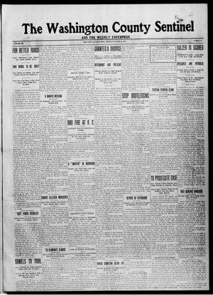 Primary view of object titled 'The Washington County Sentinel And The Weekly Enterprise (Bartlesville, Okla.), Vol. 9, No. 36, Ed. 1 Friday, October 10, 1913'.