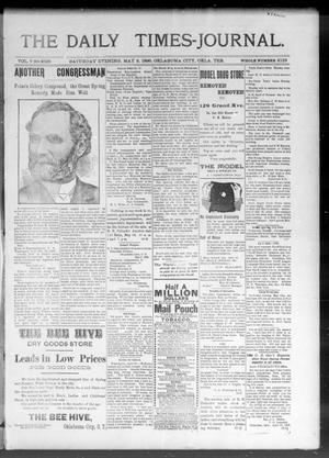 Primary view of The Daily Times-Journal. (Oklahoma City, Okla. Terr.), Vol. 7, No. 269, Ed. 1 Saturday, May 2, 1896
