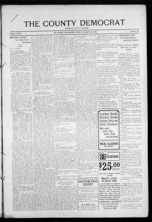 Primary view of object titled 'The County Democrat (Tecumseh, Okla.), Vol. 27, No. 28, Ed. 1 Friday, March 10, 1911'.