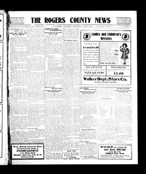 Primary view of object titled 'The Rogers County News (Claremore, Okla.), Vol. 2, No. 12, Ed. 1 Wednesday, June 8, 1910'.