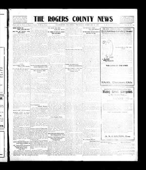 Primary view of object titled 'The Rogers County News (Claremore, Okla.), Vol. 2, No. 50, Ed. 1 Thursday, February 16, 1911'.