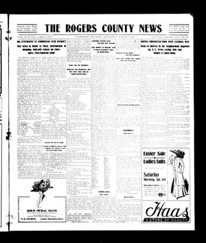 Primary view of object titled 'The Rogers County News (Claremore, Okla.), Vol. 1, No. 2, Ed. 1 Wednesday, March 31, 1909'.