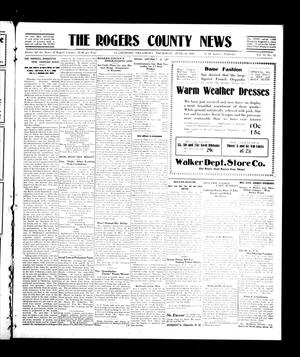 Primary view of object titled 'The Rogers County News (Claremore, Okla.), Vol. 2, No. 15, Ed. 1 Thursday, June 30, 1910'.