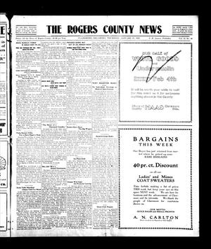 Primary view of object titled 'The Rogers County News (Claremore, Okla.), Vol. 1, No. 46, Ed. 1 Wednesday, January 19, 1910'.