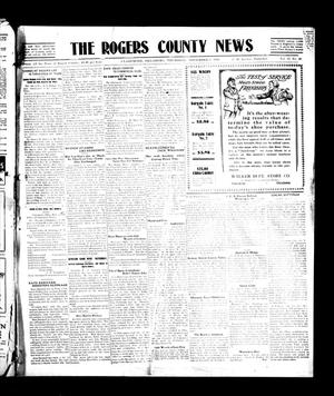 Primary view of object titled 'The Rogers County News (Claremore, Okla.), Vol. 2, No. 33, Ed. 1 Thursday, November 3, 1910'.