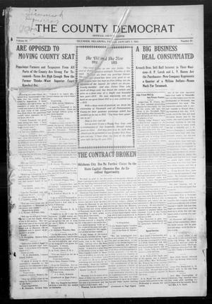 Primary view of object titled 'The County Democrat (Tecumseh, Okla.), Vol. 29, No. 19, Ed. 1 Friday, January 3, 1913'.