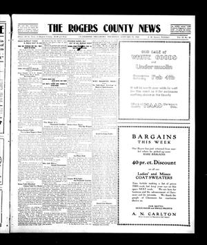 Primary view of object titled 'The Rogers County News (Claremore, Okla.), Vol. 2, No. 46, Ed. 1 Thursday, January 19, 1911'.