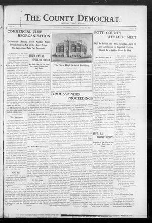 Primary view of object titled 'The County Democrat (Tecumseh, Okla.), Vol. 29, No. 36, Ed. 1 Friday, April 18, 1913'.