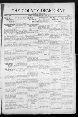 Primary view of object titled 'The County Democrat (Tecumseh, Okla.), Vol. 28, No. 47, Ed. 1 Friday, July 19, 1912'.