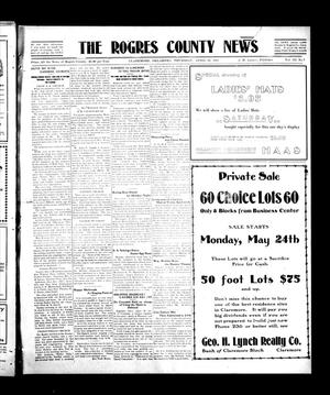 Primary view of object titled 'The Rogers County News (Claremore, Okla.), Vol. 3, No. 7, Ed. 1 Thursday, April 20, 1911'.