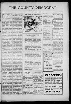 Primary view of object titled 'The County Democrat (Tecumseh, Okla.), Vol. 27, No. 23, Ed. 1 Friday, February 3, 1911'.