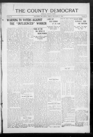 Primary view of object titled 'The County Democrat (Tecumseh, Okla.), Vol. 29, No. 18, Ed. 1 Friday, December 27, 1912'.