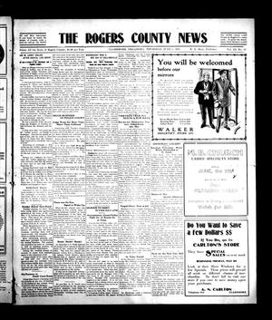 Primary view of object titled 'The Rogers County News (Claremore, Okla.), Vol. 3, No. 13, Ed. 1 Thursday, June 1, 1911'.