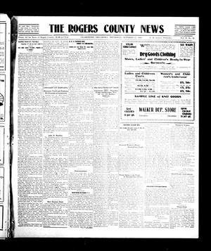 Primary view of object titled 'The Rogers County News (Claremore, Okla.), Vol. 2, No. 32, Ed. 1 Thursday, October 27, 1910'.