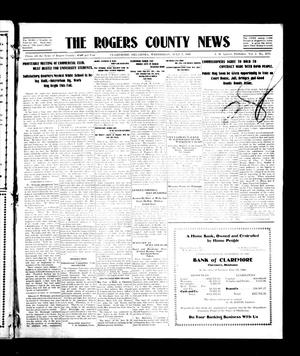 Primary view of object titled 'The Rogers County News (Claremore, Okla.), Vol. 1, No. 16, Ed. 1 Wednesday, July 7, 1909'.