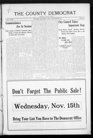 Primary view of object titled 'The County Democrat (Tecumseh, Okla.), Vol. 28, No. 11, Ed. 1 Friday, November 10, 1911'.