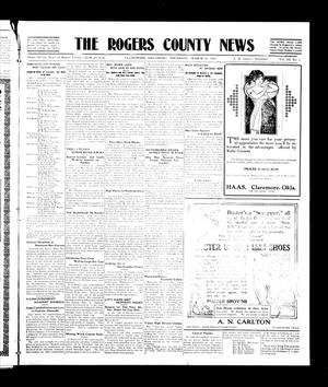 Primary view of object titled 'The Rogers County News (Claremore, Okla.), Vol. 3, No. 2, Ed. 1 Thursday, March 16, 1911'.