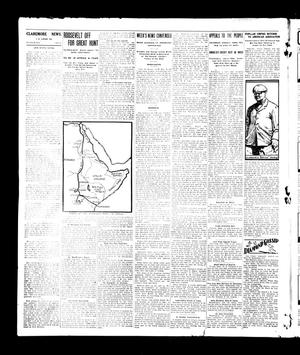 Primary view of object titled 'The Rogers County News (Claremore, Okla.), Vol. 1, No. 1, Ed. 1 Wednesday, March 24, 1909'.