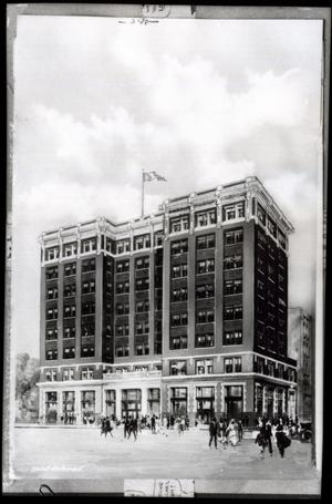 Primary view of object titled 'Sinclair Oil & Gas Company Building in Tulsa'.