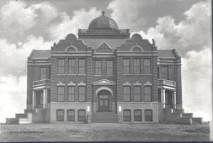 Primary view of object titled 'Indian School in Ardmore, Oklahoma'.