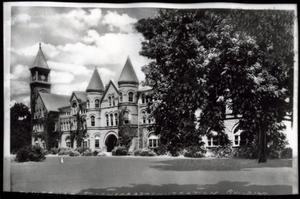 Primary view of object titled 'North East State Normal School Administration Building in Tahlequah, Oklahoma'.